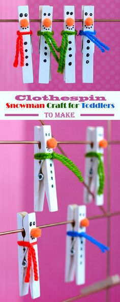 I am so excited to be sharing with you Christmas craft project. It truly is the most wonderful time of the year {hee-hee}. Well, it's my absolute favorite time of the year. This clothespin snowman craft is super cute and these little fellows will look great pretty much holding your favorite notes, holding gift tags and more.