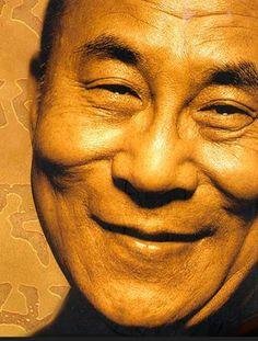 His Holiness the Dalai Lama - so thoughtful, inspiring, and such child-like enthusiasm for life and people.