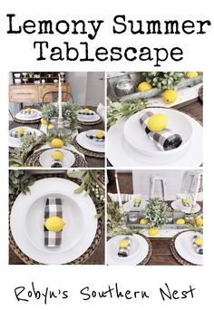 Farmhouse Lemon Tabl