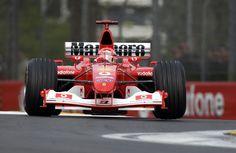 Michael Schumacher, Ferrari F2002B - 2003 San Marino Grand Prix, Autodromo Enzo e Dino Ferrari d'Imola