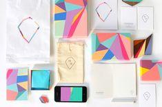 Beautiful geometric branding for custom jewellery | Branding | Creative Bloq