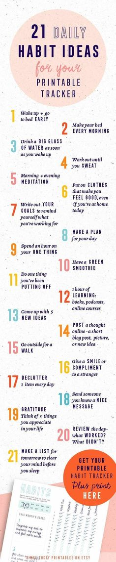 Good set of tips to set the rest of your day up!