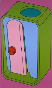 Find the latest shows, biography, and artworks for sale by Michael Craig-Martin. Conceptual artist Michael Craig-Martin—who taught Damien Hirst, Gary Hume, a… Gary Hume, James Rosenquist, Michael Craig, Gagosian Gallery, Observational Drawing, A Level Art, Outline Drawings, Everyday Objects, Claes Oldenburg