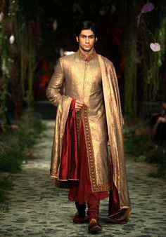 Groom Indian groom attire for Indian wedding Wedding Outfits For Groom, Wedding Men, Wedding Suits, Wedding Rustic, Wedding Groom, Farm Wedding, Wedding Couples, Wedding Dresses, Boho Wedding