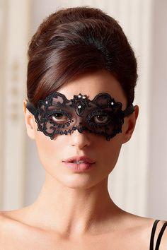 06d574296a Dentelle Joaillerie mask Lise Charmel | dessus-dessous.fr Lingerie De Luxe,  Accessoires