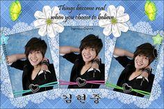현중 (Hyun Joong)