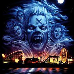 Lost Boys Movie, The Lost Boys 1987, Horror Movie Tattoos, Horror Movie Characters, Horror Posters, Horror Icons, Movie Posters, Classic Horror Movies, Iconic Movies