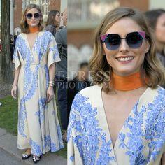 "123 Likes, 1 Comments - Epressphoto (@epressphoto) on Instagram: ""Olivia Palermo wearing @fendi sunglasses while attending the Fendi S/S 18 during Milan Fashion Week…"""