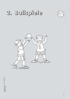Ballspiele, Sport, 1. und 2. Klasse