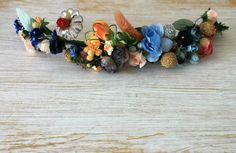 Corona de flores LuLé collage.