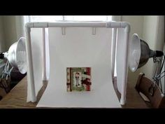 DIY $10-$15 foldable light tent made of PVC pipes. Great for photographing your products.