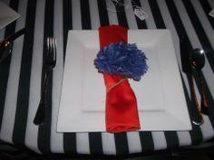 DIY Paper Flower Napkin Ring