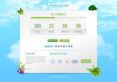 iMagineLab Coming Soon Html/CSS/PSD Template