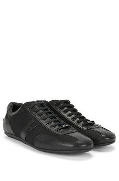Sneakers con guarnizione in pelle: 'Thatoz'