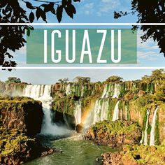 Travel to South America & Tour Iguazu Falls, the most stunning waterfalls in the world. Iguazu Falls Tours will connect you with wildlife & adventure. Iguazu Falls, Niagara Falls, South America, Sailing, Exotic, Waterfall, Wildlife, Tours, Adventure