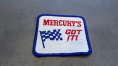 Take a look at my listing, folks👇 1970s Vintage Mercury /Mercury's Got It / Racing Team / NASCAR / Speedway / ...  https://www.etsy.com/listing/515251625/1970s-vintage-mercury-mercurys-got-it?utm_campaign=crowdfire&utm_content=crowdfire&utm_medium=social&utm_source=pinterest