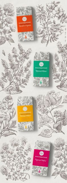Krasnodar Tea on Packaging of the World – Creative Package Design Gallery de envases rnrnSource by kaijonasf Toy Packaging, Coffee Packaging, Beauty Packaging, Brand Packaging, Organic Packaging, Packaging Design Tea, Product Packaging Design, Product Branding, Candle Packaging
