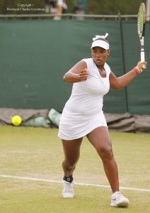Taylor Townsend is a tennis prodigy with a unique body type for a professional athlete.