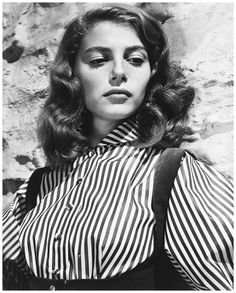 Italian actress Pier Angeli (1932 - 1971), circa 1955 (Photo by Silver Screen Collection:Hulton Archive:Getty Images)