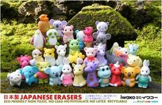 Iwako Eraser Animals