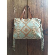 Tasha Polizzi Spring 2015 High Plains handbag fringe teal tribal Aztec turquoise leather purse cowgirl chic