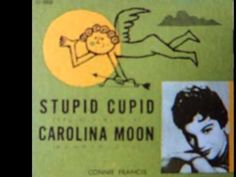 """Connie Francis  - """"Stupid Cupid""""  (Rare 'Mono-to-Stereo' Mix 1958) .. """"Stupid Cupid"""" was written by Neil Sedaka and Howard Greenfield. The recording with Connie Francis took place 18 June 1958 with Neil Sedaka on piano. Later on Neil Sedaka recorded """"Stupid Cupid"""" himself on 1 April 1959. Connie's version went to Top Twenty in 1958."""