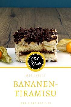 Dieses Bananen-Tiramisu ist nicht nur eine fruchtige Variante des italienischen Klassikers, es hat auch eine besonders leckere Geheimzutat... Bananen-Likör!