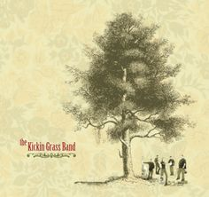 Kickin Grass Band CD package design by Designbox. #designboxprint #designboxbrand #designboxmusic #kickingrassband