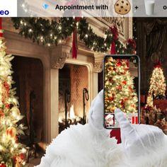 Santa streaming happiness on REveo Luxury Real Estate, Luxury Mansions, Christmas Tree, Table Decorations, Holiday Decor, Santa, Happiness, Home Decor, Teal Christmas Tree