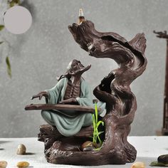 4 Style Damour Ceramic Buddha Creative Incense Burner High Quality Backflow Aroma Furnace Business Gift-in Incense & Incense Burners from Home & Garden on Aliexpress.com | Alibaba Group