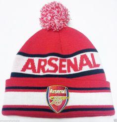 a2167b9d335 Arsenal Fc Hat Bronx Beanie Official Football Gifts