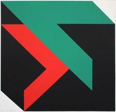 Horst Scheffler - Geometrische-Komposition