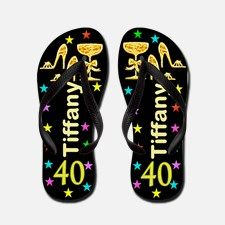 40th Gold Diva Flip Flops Every 40 year old will love celebrating their 40th with this original personalized 40th birthday flip flops. http://www.cafepress.com/flipflopfrenzy/12586403  #40yearsold #Happy40thbirthday #40thbirthdaygift #40thflipflops #Personalized40th #Happy40thflipflops