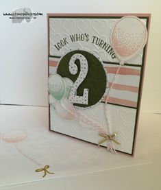 Number of Years Birthday Pop-Up! by Stamps-n-lingers - Cards and Paper Crafts at Splitcoaststampers