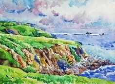 William Dubin: Watercolor: