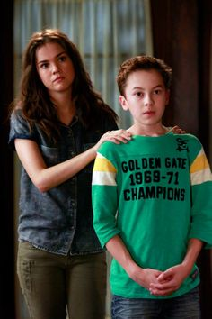 """#TheFosters 2x01 """"Things Unknown"""" - Callie and Jude"""