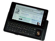 Motorola Droid - Wikipedia, the free encyclopedia