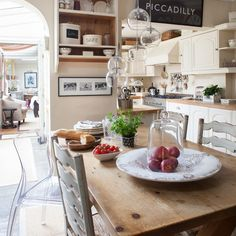 French farmhouse-style kitchen-diner | Traditional decorating ideas | housetohome.co.uk