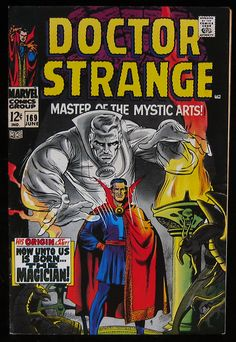 """Doctor Strange issue #169, but actually the first comic book titled """"Doctor Strange"""".  Issue #168 was titled Strange Tales, but it changed its name on the next issue.  This book is older than Doctor Strange #1."""