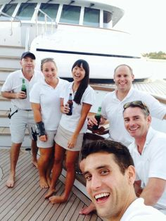 Time off or finished charter - how do you celebrate the highs of working in the yachting industry?