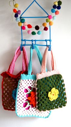 crochet bag>little crochet bags