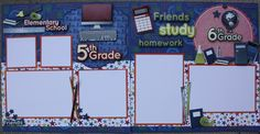 5th and 6th grades layouts