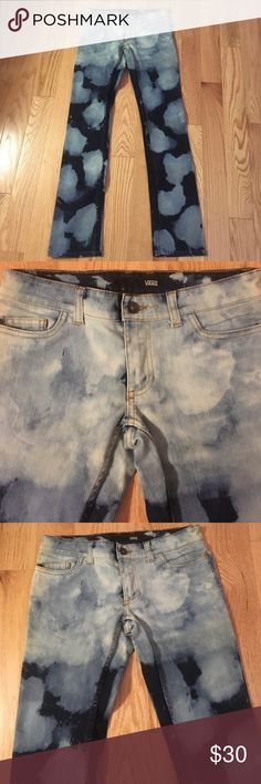 New Without Tags VANS Straight leg jeans! VANS NWOT straight leg acid washed or tie dyed jeans. Such a cool design & great denim fabric! Vans Jeans Straight Leg