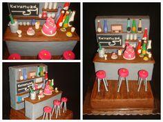 Cakes constructed from sugar paste: ouvrages favoris manière détaillée