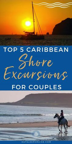 Planning a romantic getaway? Why not a Caribbean cruise? No matter which cruise line you sail (Norwegian, Royal Caribbean, Carnival, etc.), they all offer Caribbean cruise destinations. Whether you are celebrating a special event, or just need a weekend getaway here we share our favorite Caribbean shore excursions for couples. From sunset cruise, beach side couples massages just to name a few. Check out our blog post for this, and many more cruise articles. Start planning your escape today! Cruise Excursions, Cruise Destinations, Shore Excursions, Amazing Destinations, Caribbean Carnival, Caribbean Cruise, Southern Caribbean, Royal Caribbean, Packing List For Cruise