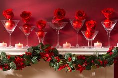 Christmas Mantel Decor Inspiration. Different