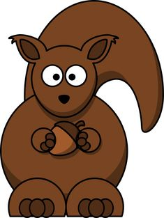Cartoon Squirrel Clipart