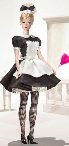 The French Maid (2006) Silkstone Barbie  -  Pinned 2-5-2016.