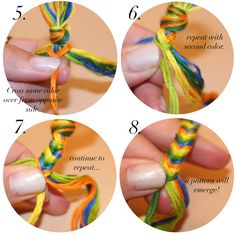 Fishtail bracelet... doing this with Kallie and Lily on a rainy day! Super easy!