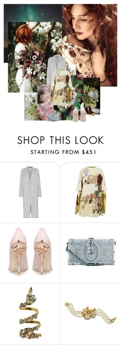 """""""Winter Wedding"""" by sue-mes ❤ liked on Polyvore featuring Bodas, Acne Studios, Valentino, RALPH & RUSSO, Dolce&Gabbana, Erickson Beamon and Miriam Haskell"""